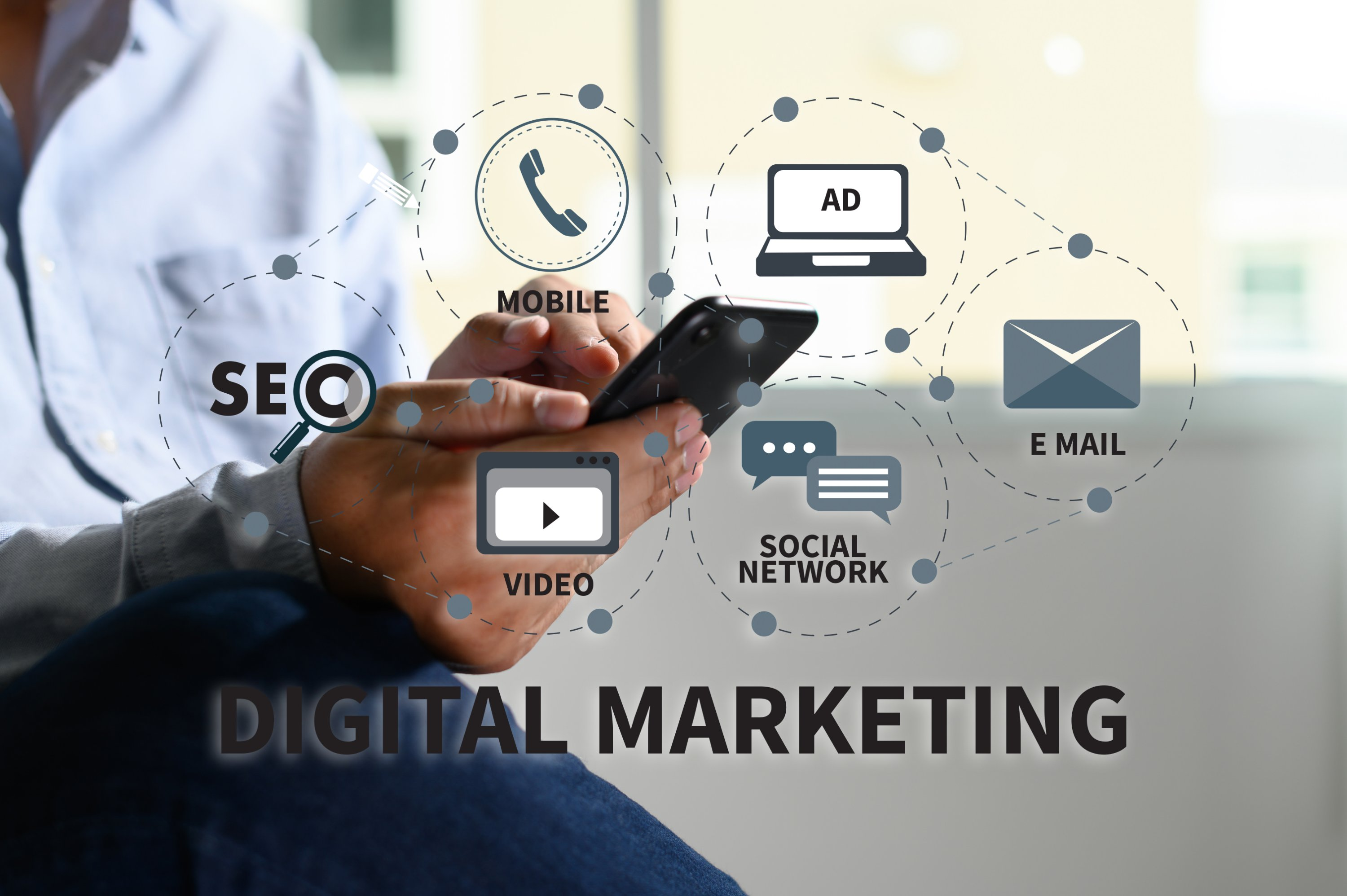 Digital marketing movil ID-click